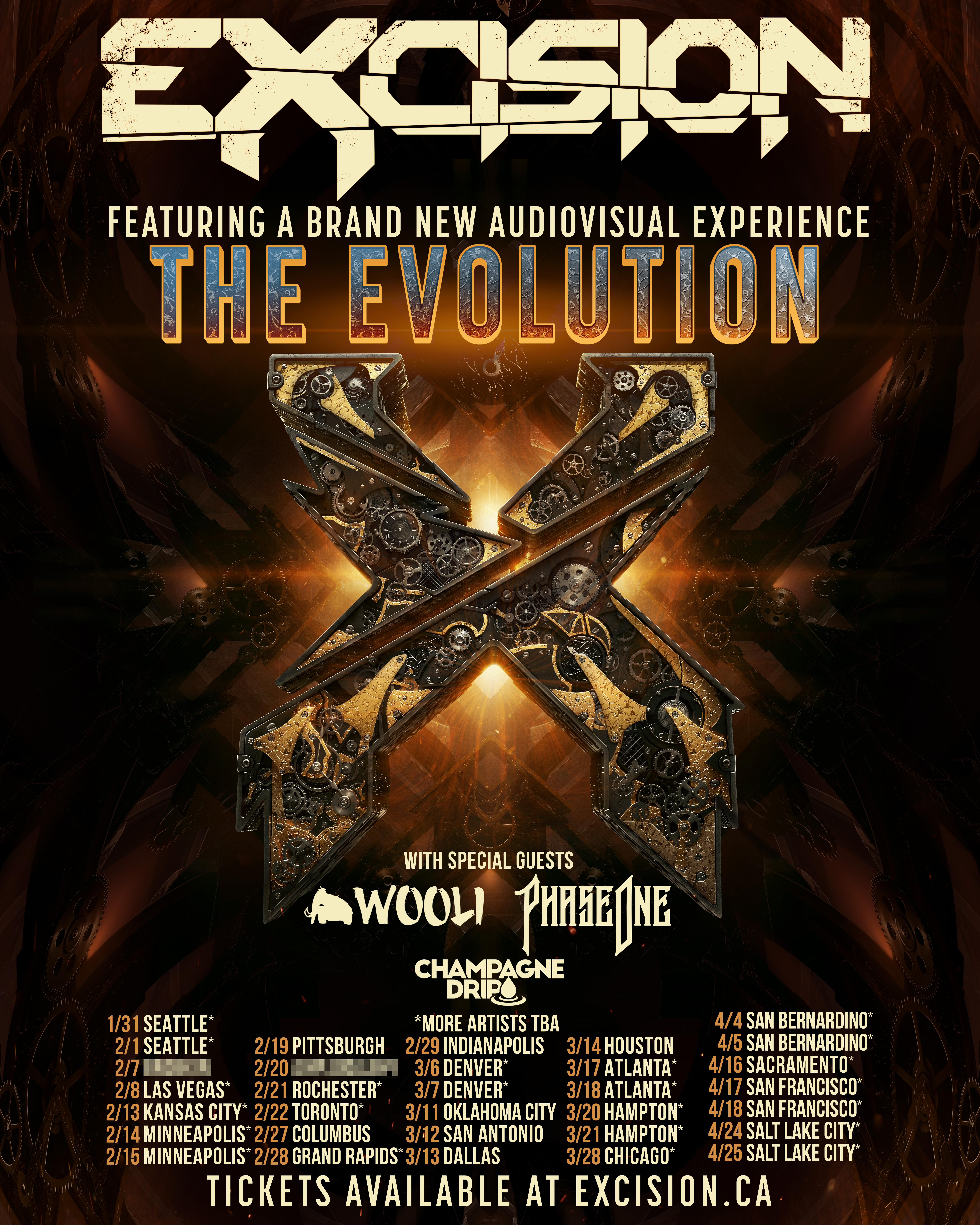 Excision 2020 Tour Tickets On Sale Now!