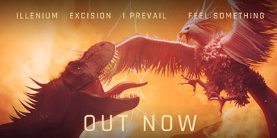 "Out Now: ""Feel Something"" with Illenium & I Prevail"